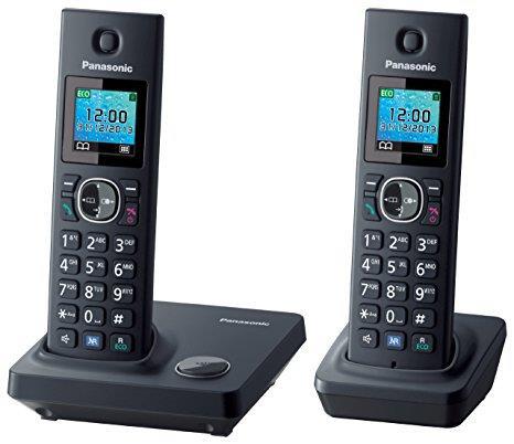 טלפון אלחוטי + שלוחה נוספת  Panasonic KXTG7852