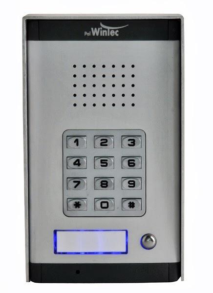 מערכת אינטרקום וקודן לחיבור למרכזייה K1010 XCODE