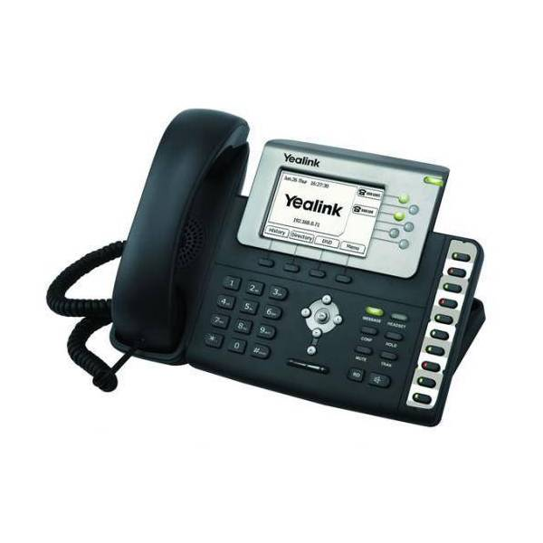 טלפון שולחני  Yealink SIP-T28P מחודש