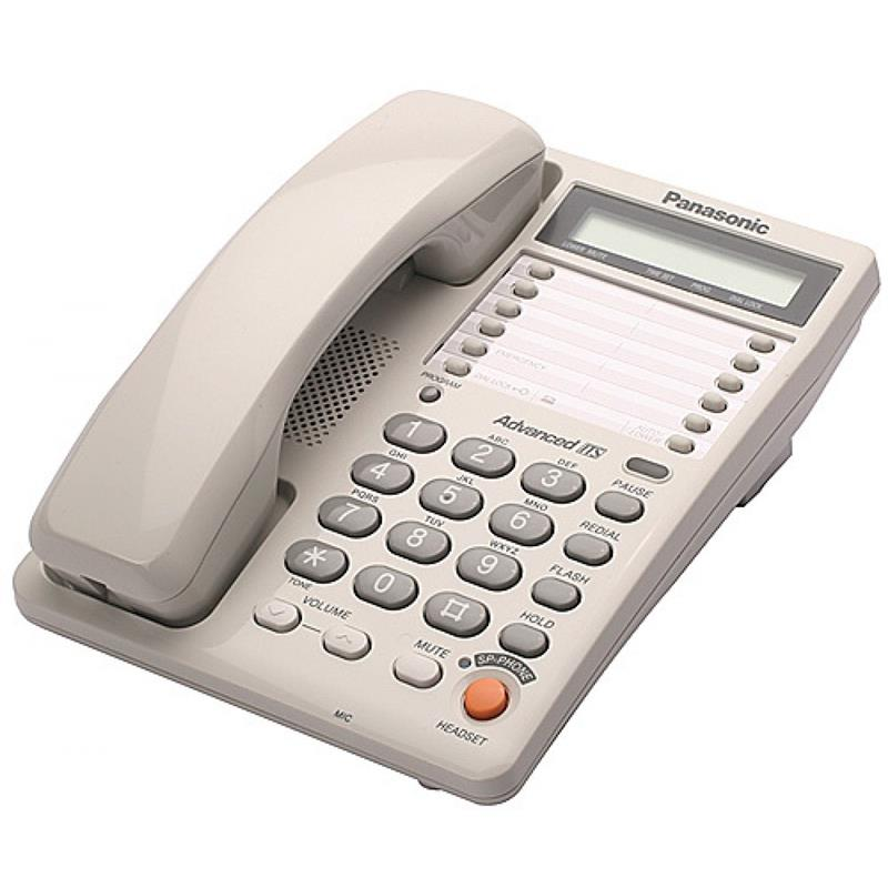 טלפון חוטי Panasonic KXT2375