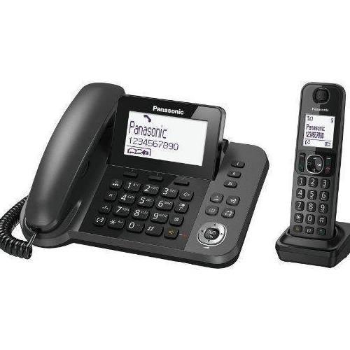 טלפון אלחוטי משולב עם שולחני Panasonic KX-TGF310