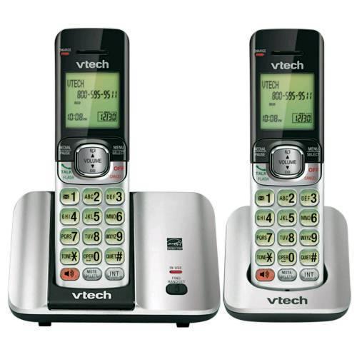טלפון אלחוטי+שלוחה VTECH CS6519-2