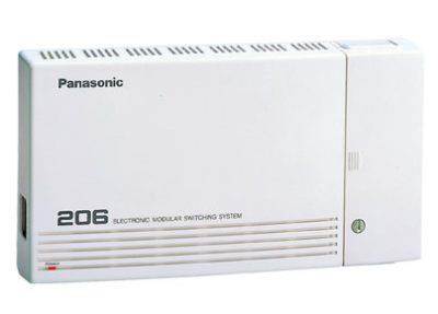 מרכזיה panasonic 206 (שני קווים 6 שלוחות)
