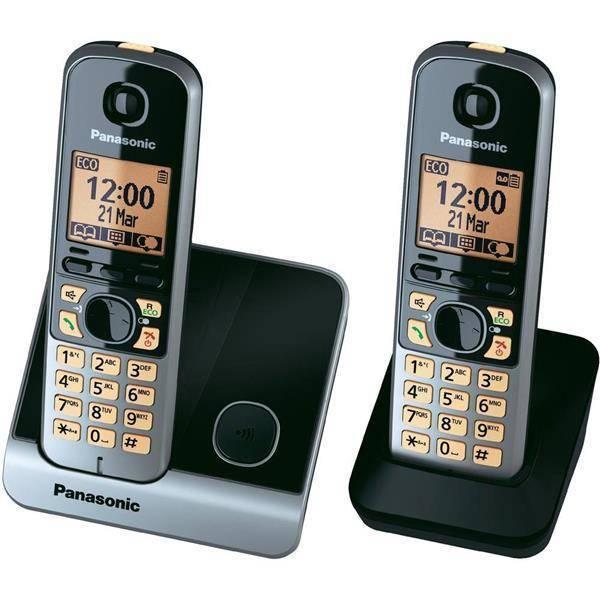 טלפון אלחוטי KXTG6712 Panasonic