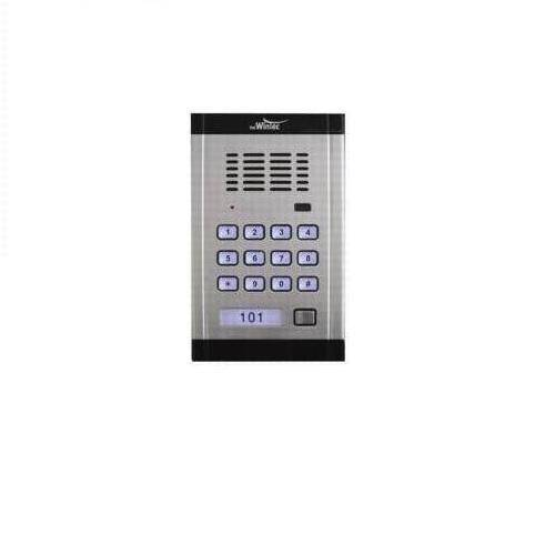 פנל דלת אלומניום עם לחצן ומקודד PWK1000