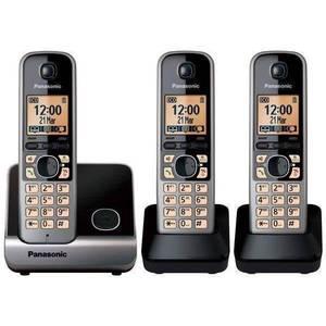 טלפון אלחוטי KXTG6713 Panasonic